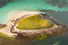 ile drenec archipel glenan coeur naturel lagon