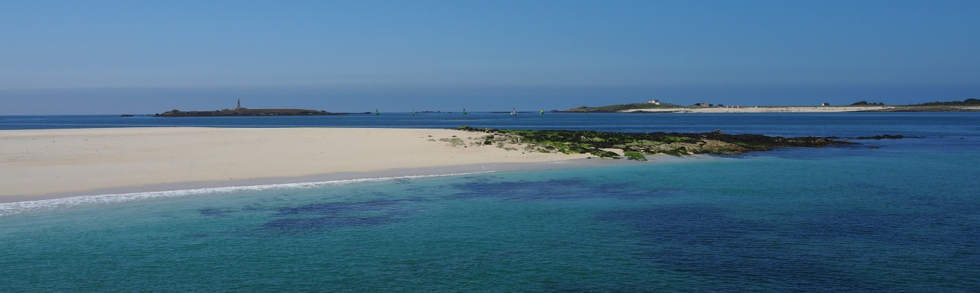 plages glenan archipel bretagne