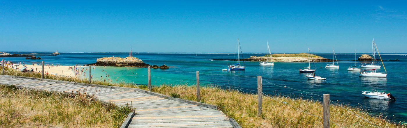 ile bretonne archipel glenan finistere