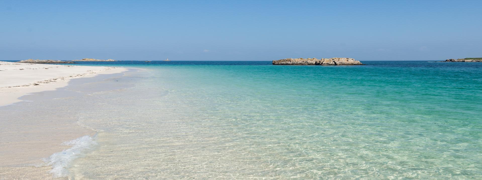 plage ile saint nicolas glenan archipel