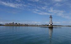 Embarcadère de Loctudy au port de pêche pour les îles Glénan