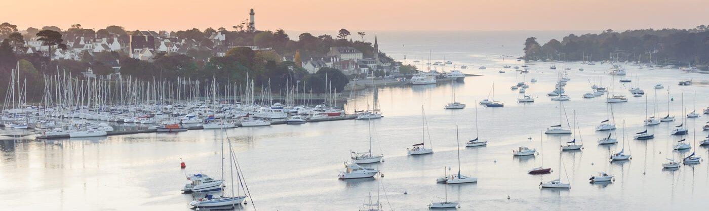 benodet sainte marine riviere odet