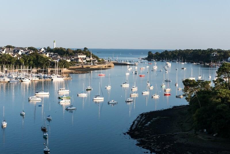 riviere odet vieux port benodet