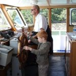 capitaine vedettes odet passerelle riviere odet