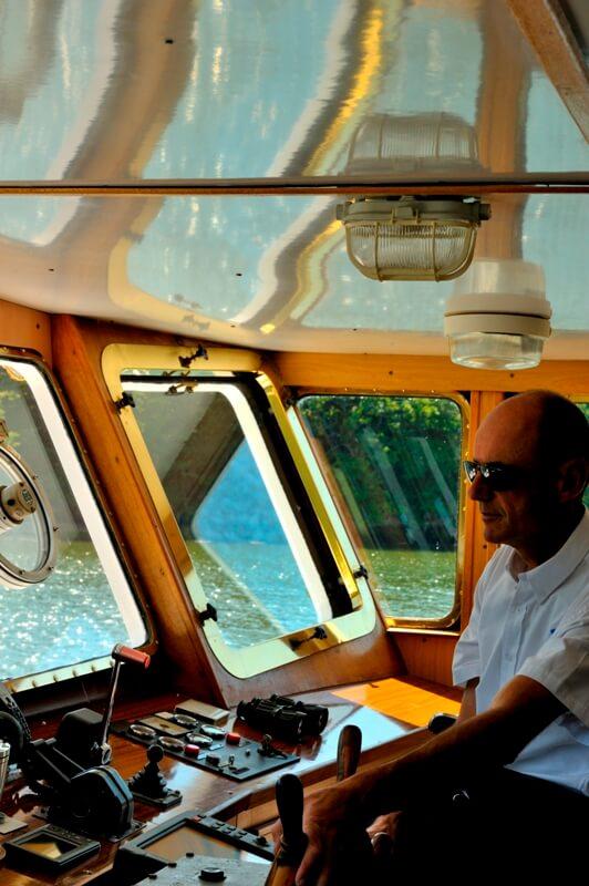 capitaine vedettes odet passerelle croisiere riviere