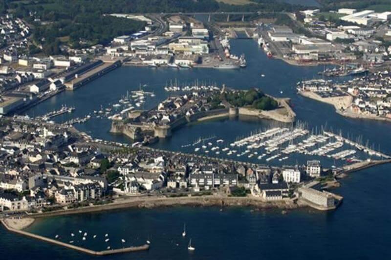 concarneau centre port peche plaisance ville close