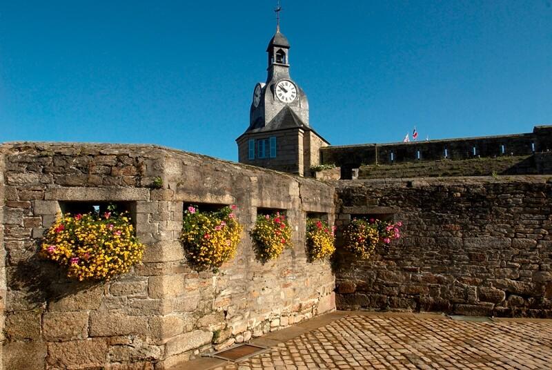beffroi ville close concarneau monument historique