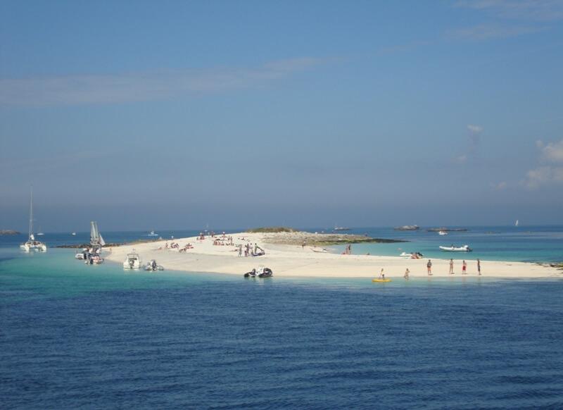guiriden banc sable archipel glenan