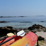 archipel glenan escapade kayak mer pagaies balade depart ile saint nicolas