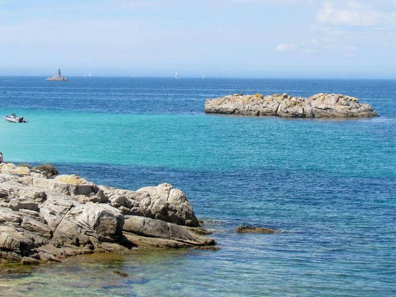 mer turquoise iles glenan