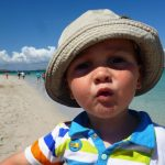 enfant plage iles glenan