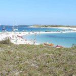 archipel glenan banc sable saint nicolas familles enfant bonheur