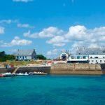 cale ile saint nicolas archipel glenan bretagne vivier homards restaurants