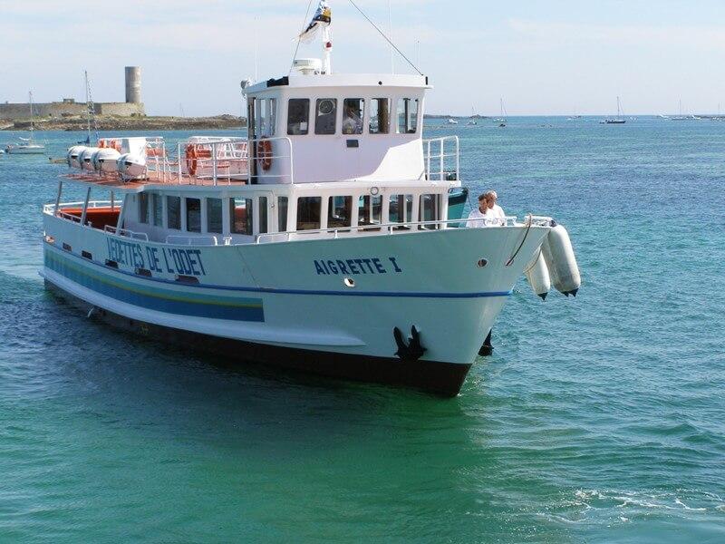 aigrette bateau promenade compagnie vedettes odet iles glenan