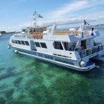 iles glenan capitaine nemo catamaran vision sous marine