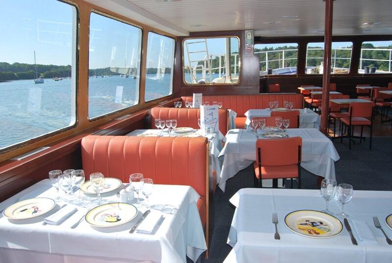 salle bateau restaurant vedettes odet