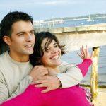couple heureux plage riviere benodet
