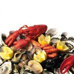 plateau fruits de mer bateau restaurant benodet aigrette
