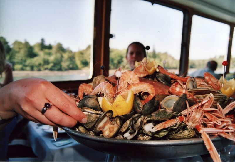 plateau fruits mer croisière gourmande riviere odet bendoet