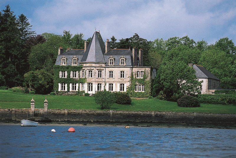 riviere odet chateau kerouzien quimper