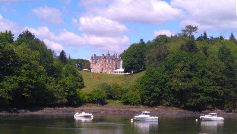 riviere odet chateau perennou croisière commentée