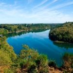 riviere odet vue aerienne chateaux bois