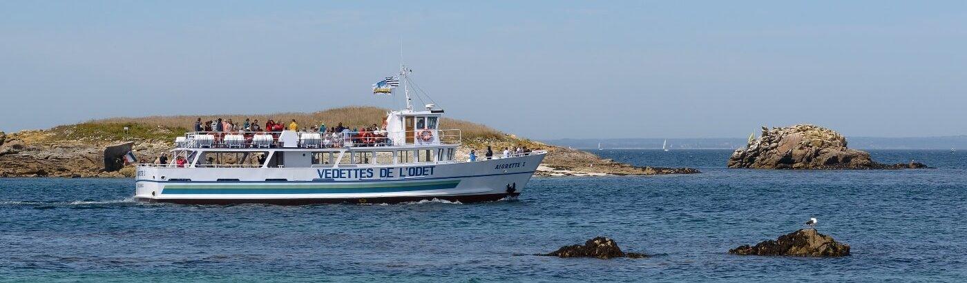 iles glenan aigrette tour archipel guide