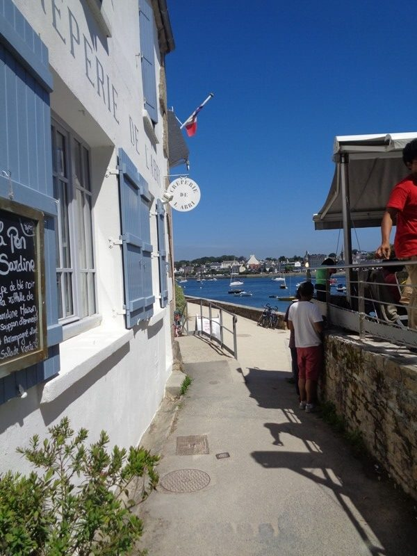 port sainte marine face à bénodet