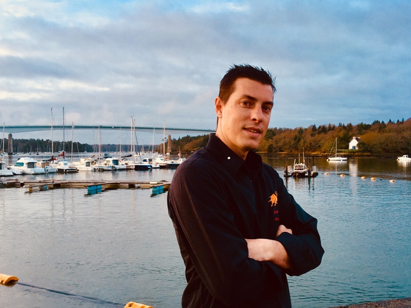 chef du bateau restaurant anthony duchemin