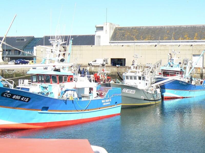 bateaux de pêche de concarneau