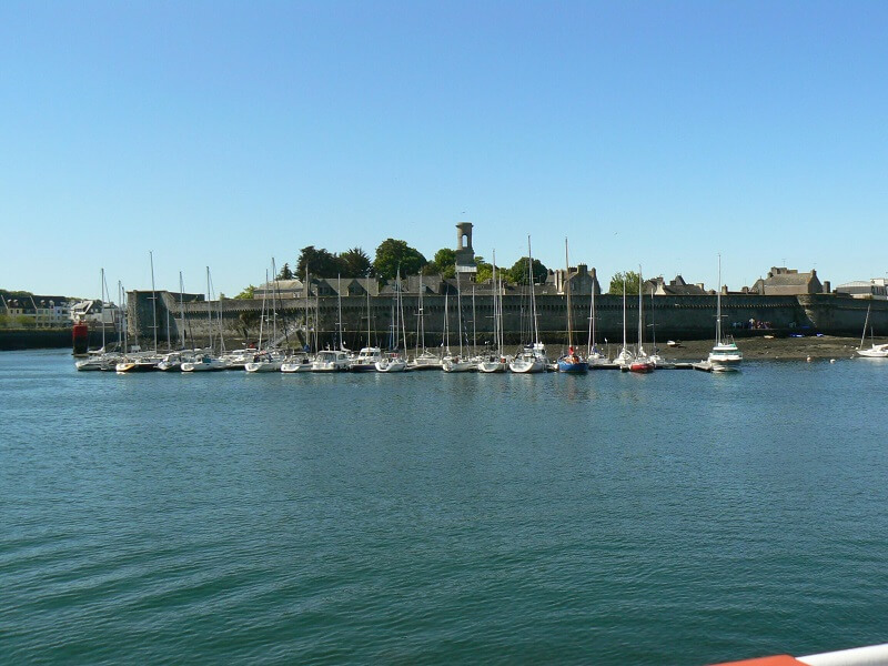 ville close voiliers concarneau