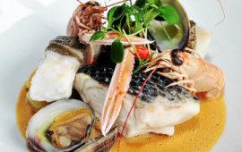 menu triskell bateau restaurant benodet